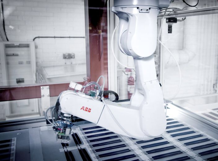 ABB partners with Exeger to speed up world's transition to clean energy