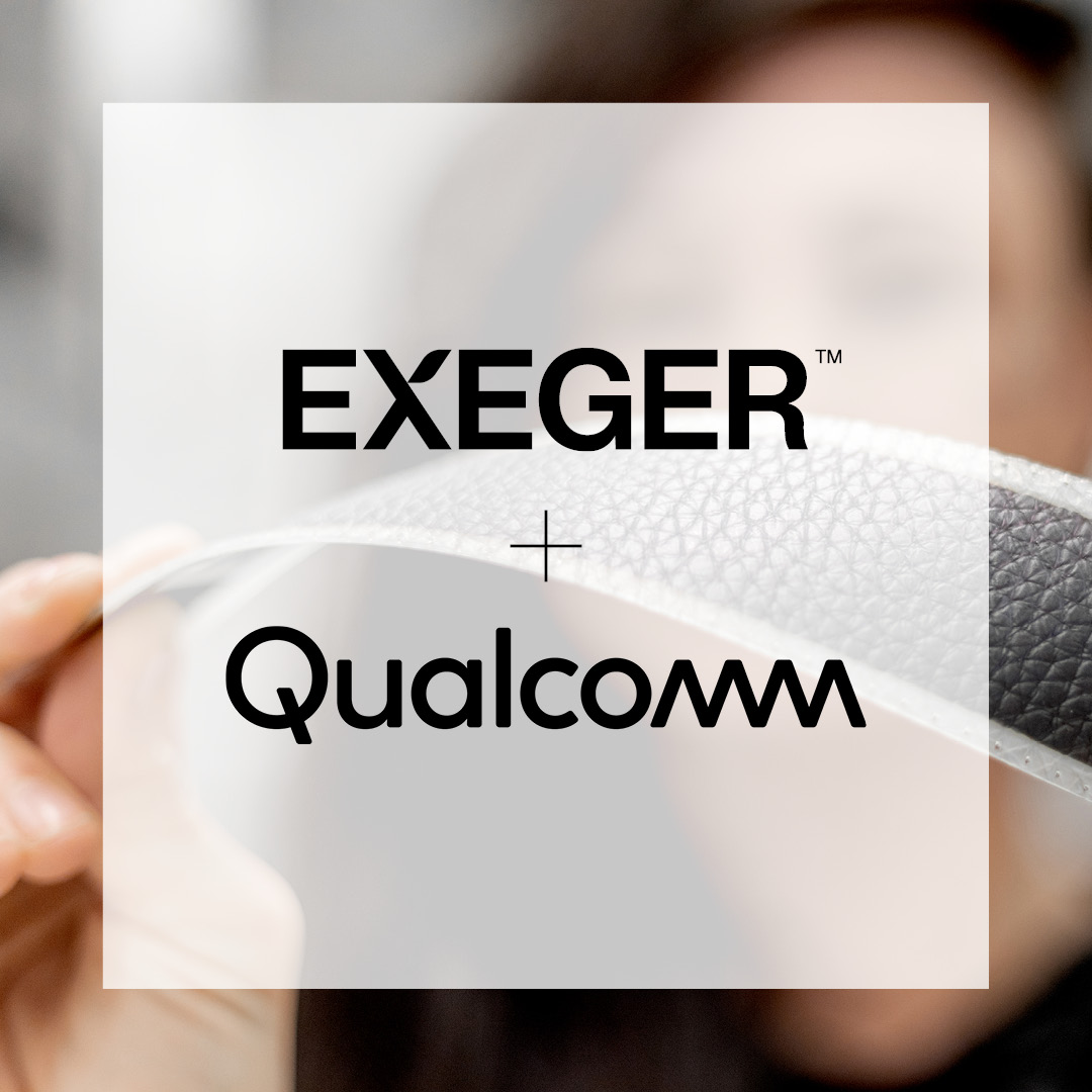 Exeger joins Qualcomm® Extension Program with Powerfoyle, its patented solar cell material capable of turning any light source into electricity